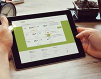 Application and Website design. Wallet