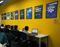 Web Team Manifesto - A Minimalist Poster Design