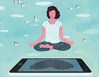 Martha Stewart Living - editorial illustrations