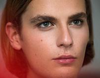 model test for Filip Novak in Volant Magazine