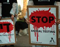 Almo Nature - Ilana Yahav - Stop Vivisection Campaign