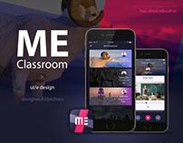 me classroom app ui