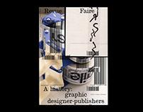 Revue Faire 19 : graphic designer-publishers