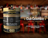 Club Colombia Barrel
