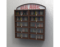 Casette (Old music player) Storage