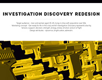 Investigation Discovery tv channel redesign