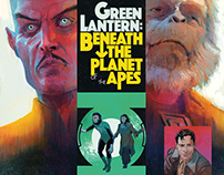 Green Lantern: Beneath the Planet of the Apes
