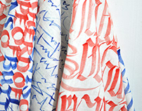 Calligraphy Fabric