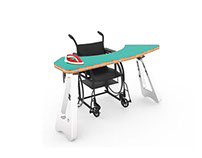 IROON Wheelchair Table