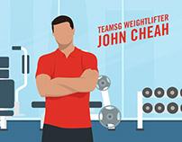 TeamSG Weightlifting Illustrations