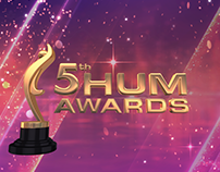 5th Hum Awards 2017 - website