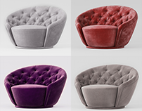 """Modeling of """"Agon Visionnaire"""" armchair"""