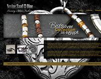 Nevine Saad El-Dine Silver Artist Website