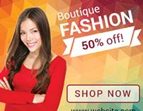 Boutique Fashion Banners