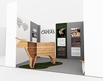 Capeas Segura de León – Stand de exposición