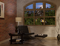 3D - Photorealistic Lounge