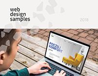 web design samples