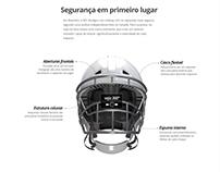 Novo capacete NFL