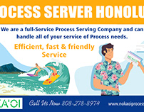 Process Server in Honolulu
