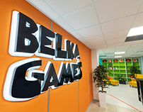 Squirrels, Nuts, and UFO: Office Design for Belka Games