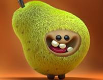 Furry Pear Mascot