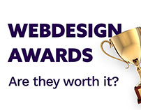 Web design award sites traffic statistics