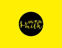 LemonMilk (Logo & handmade stamp)