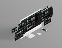MockUp Design for Website Fitness