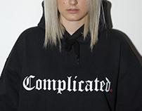 COMPLICATED. | HOODIE
