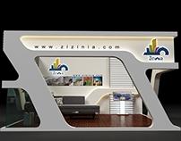 Zezinia Dubai booth 2014