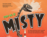 Zoologisk Museum | Misty the Dinosaur - poster