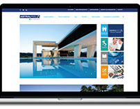 AstralPool web design