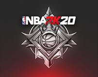 NBA 2K20 // UI design