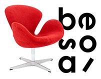 Besoa–visual identity, brand look&feel