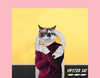 Le Hipster Cat