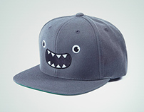 Cute Monster (snapback/dad hats/beanies) @threadless