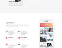 Vanessa - Easy One-page Startup/App Landing 8.5 Theme