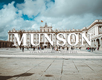 Munson - free classic sans serif font