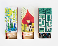 Matches packaging redesign