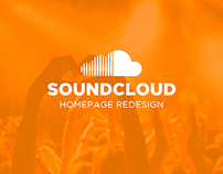 SoundCloud Homepage Redesign