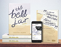 'The Bell Jar' book campaign