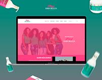 Site Rara Beleza Cachos