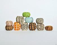 Beads on dreadlocks