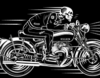 Biker design for Nostalgia shirts