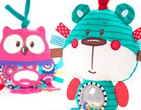 Zabawki dla dzieci/Baby toys Forest Friends Collection