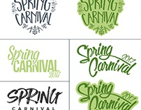 Spring Carnival Title Design