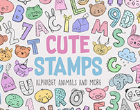 Cute Stamps Collection