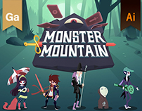 Monster Mountain - Artbook