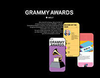 GRAMMY AWARDS — New Website 2020