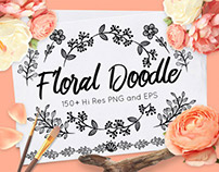 Floral Doodle Toolkit (80% OFF!)